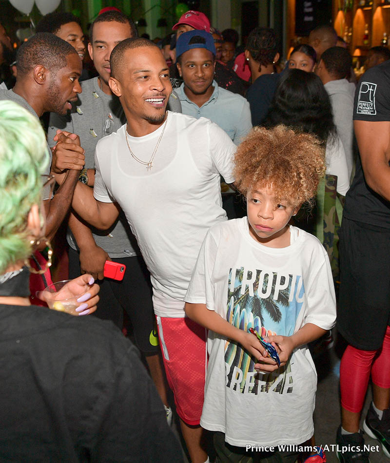 PICS: T.I., Marissa, Others Attend Spotify Open House In
