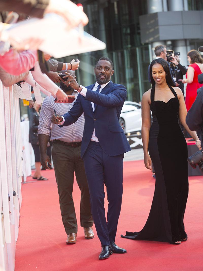 Drake International Toronto >> Idris Elba, Sabrina Dhowre | Sandra Rose