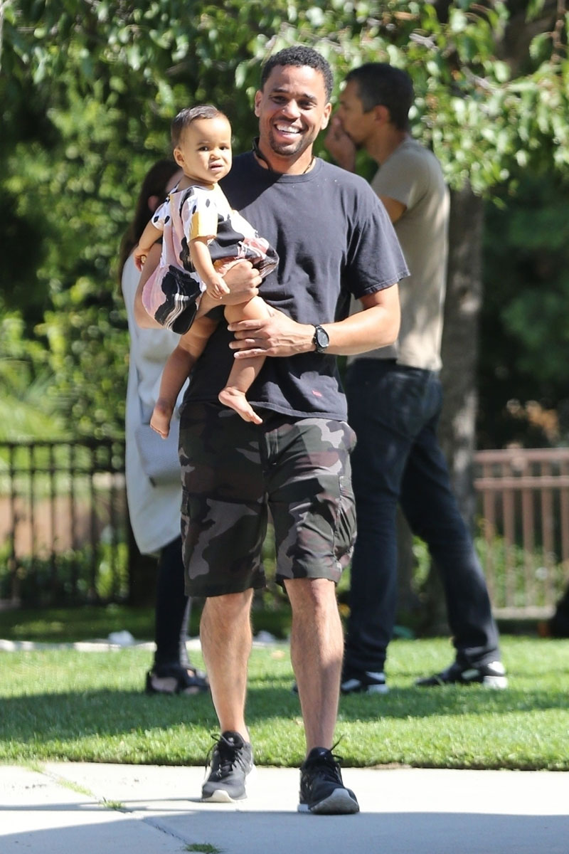 celebrity baby michael ealy