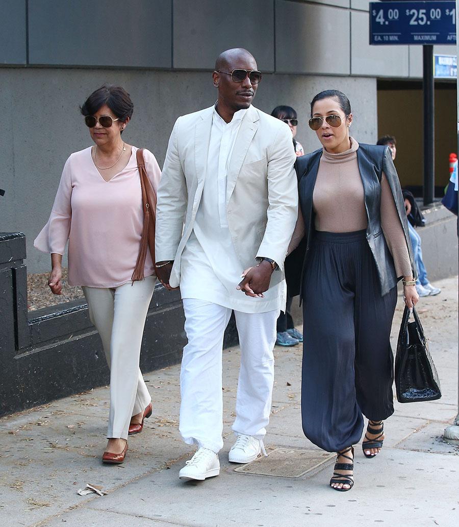 Tyrese Gibson & wife Samantha