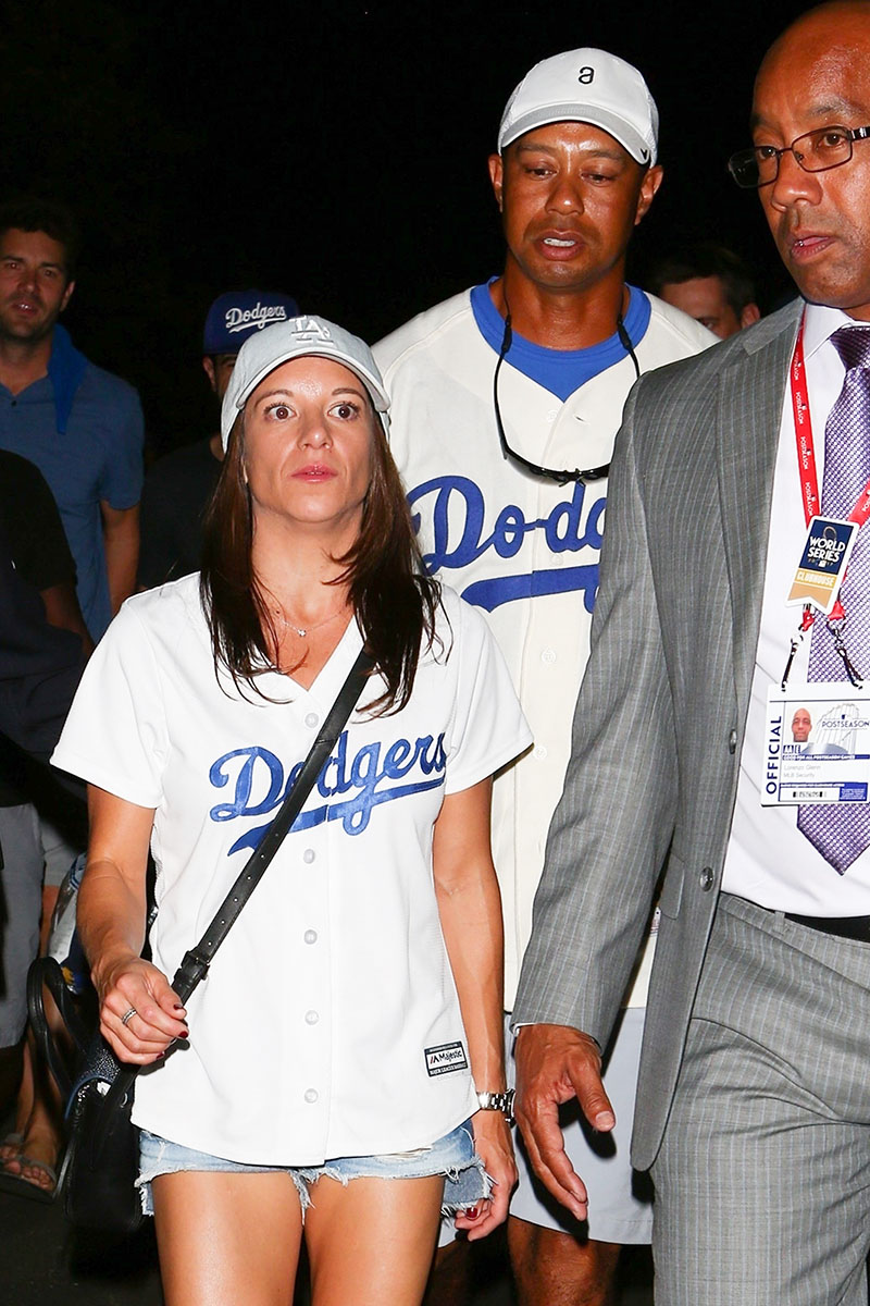 Tiger Woods & Erica Herman