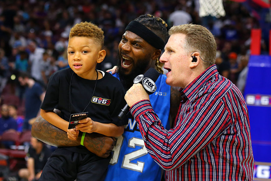 Michael Rappaport, DeShawn Stevenson