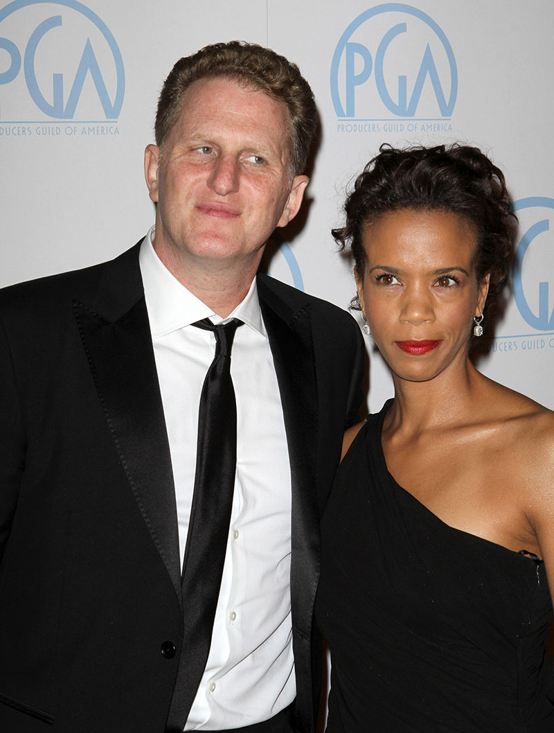 Michael Rapaport with wife Kebe Dunn