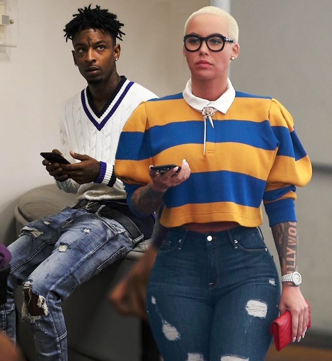 Amber Rose & 21 Savage
