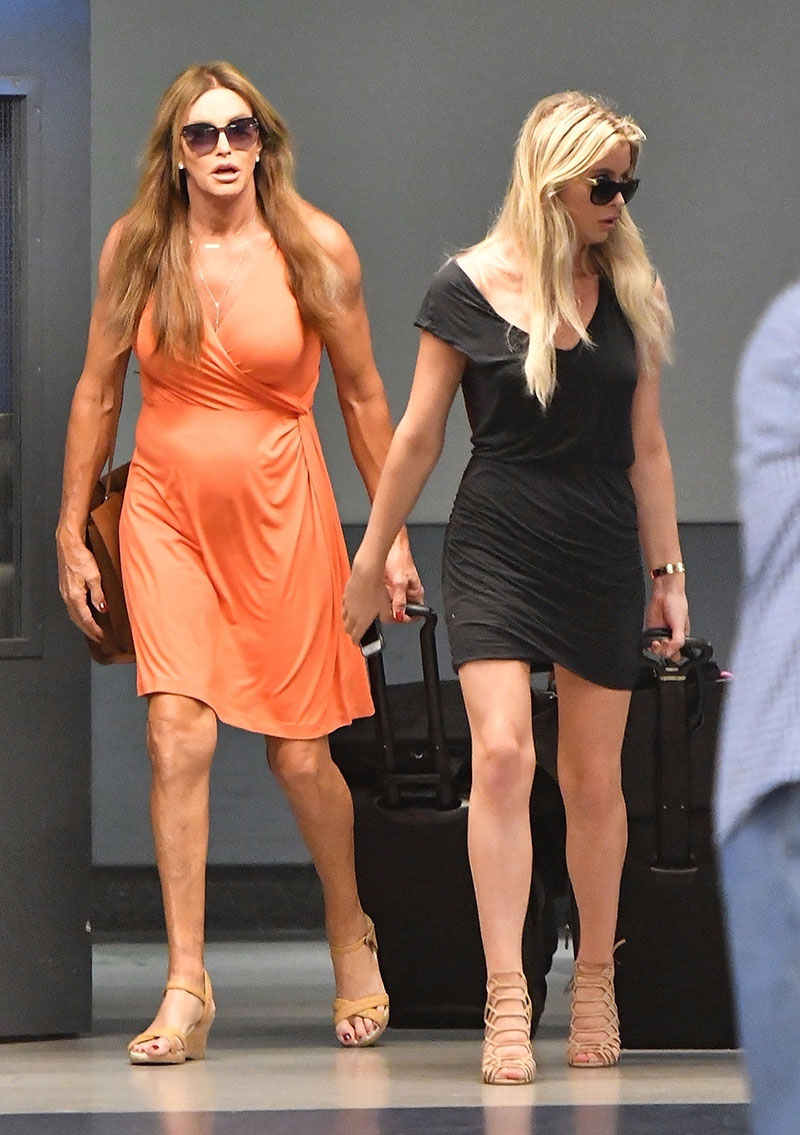Bruce Caitlyn Jenner And Sophia Hutchins Sandra Rose