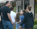 Jennifer Lopez & Alex Rodriguez with their kids