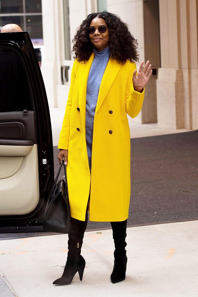 Gabrielle Union Wearing Mira Mikati