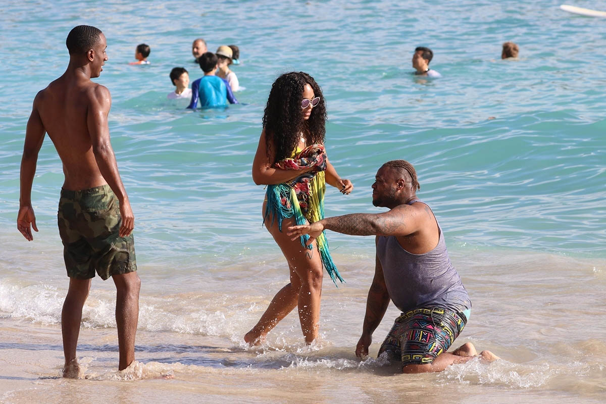 Ashanti in Hawaii