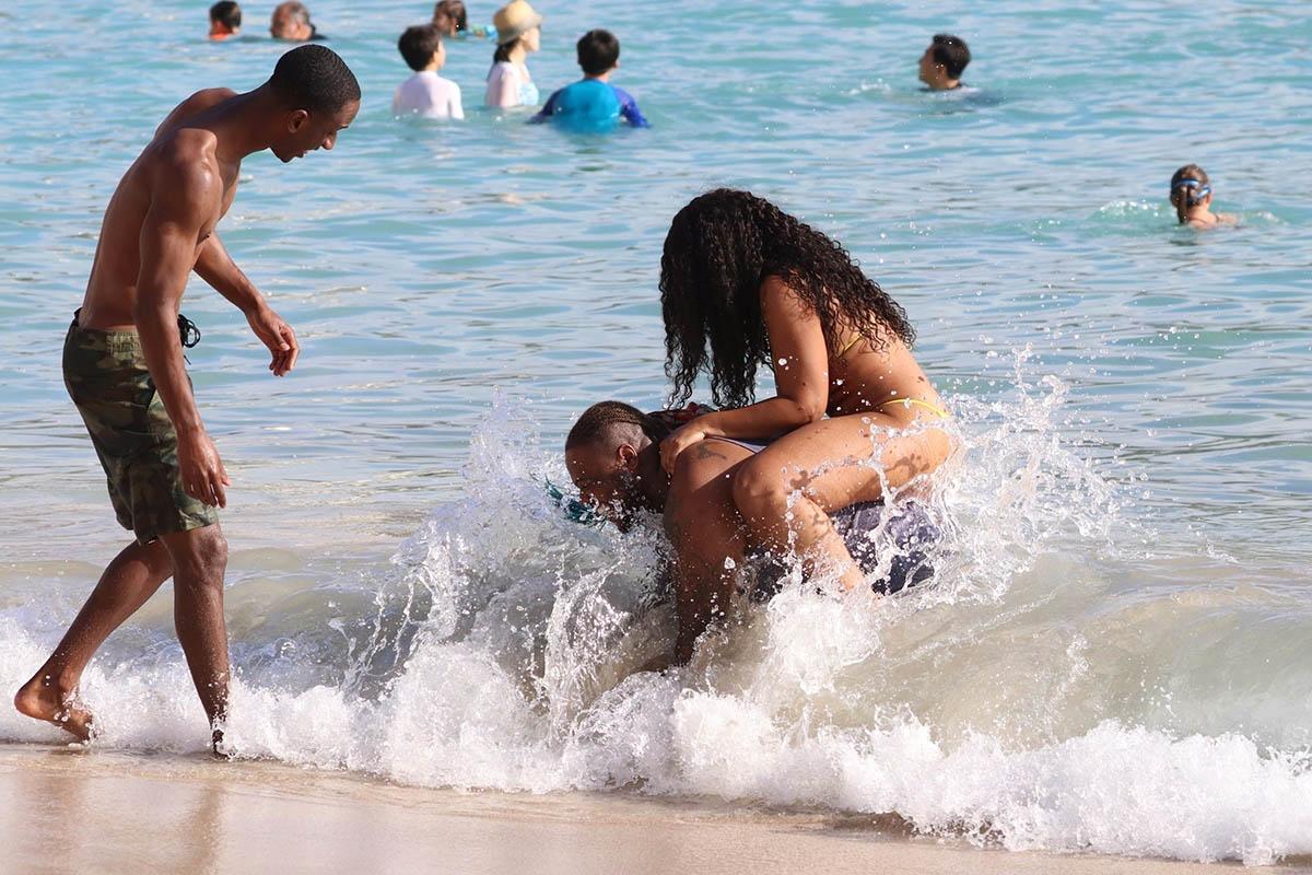 Ashanti in Hawaii