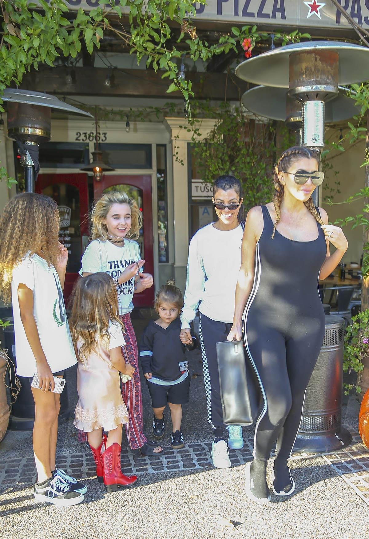 Kourtney Kardashian & Larsa Pippen