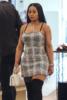 Blac Chyna at Saks Fifth Avenue