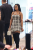Blac Chyna at Saks Fifth Avenue