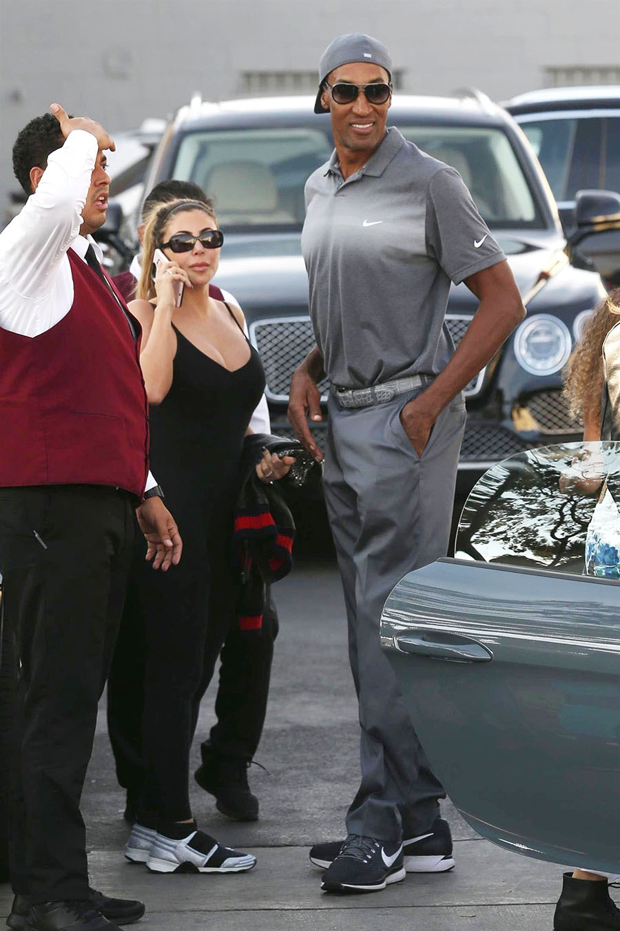 Scottie & Larsa Pippen