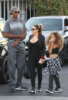 Scottie, Larsa and Sophia Pippen