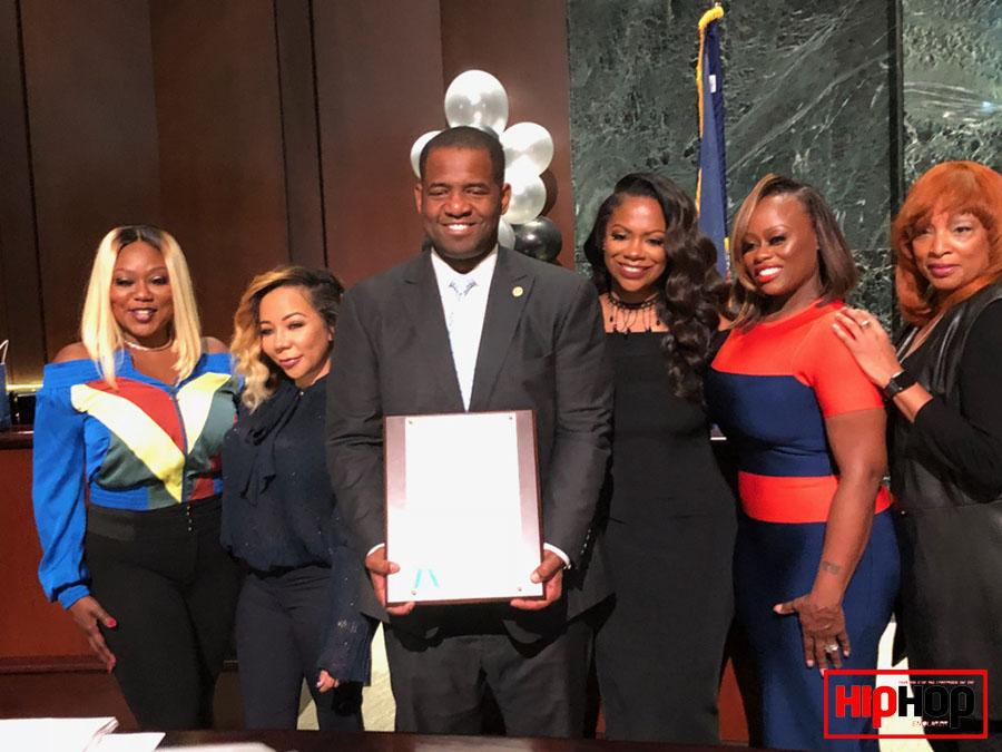 Xscape, Bow Wow, Silk, City Councilman Ceasar Mitchell