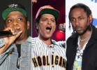 Jay-Z, Bruno Mars, Kendrick Lamar