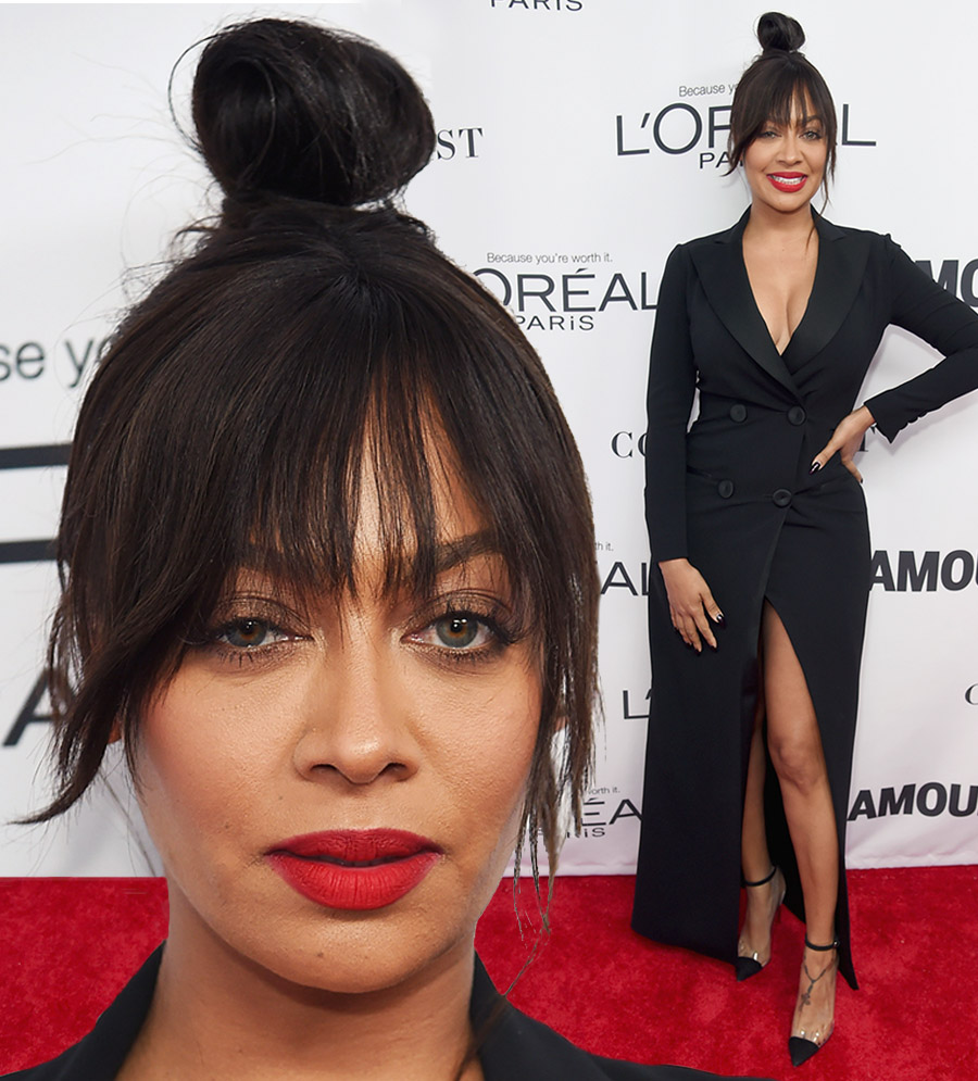 La La Anthony Wearing Moschino