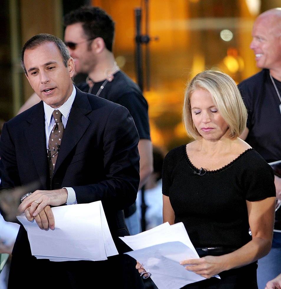 Matt Lauer, Katie Couric