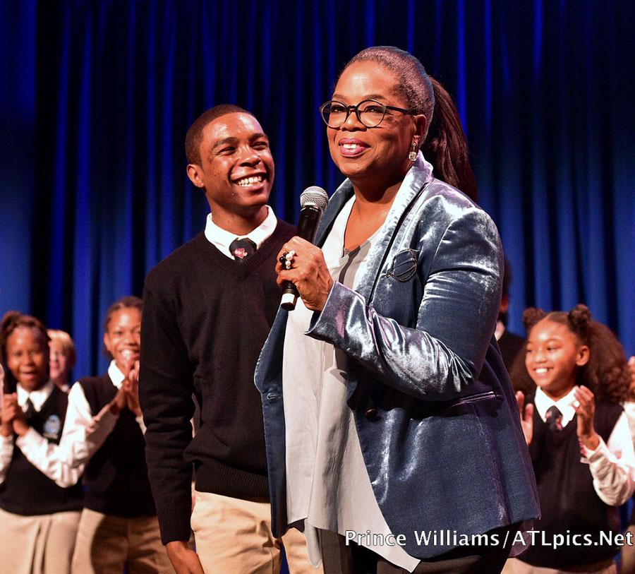 Oprah Winfrey donates $5M to Atlanta school