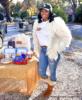 NeNe Leakes and Marlo Hampton turkey giveaway