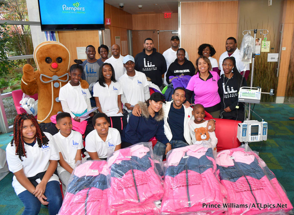 Ludacris at Children's Healthcare of Atlanta