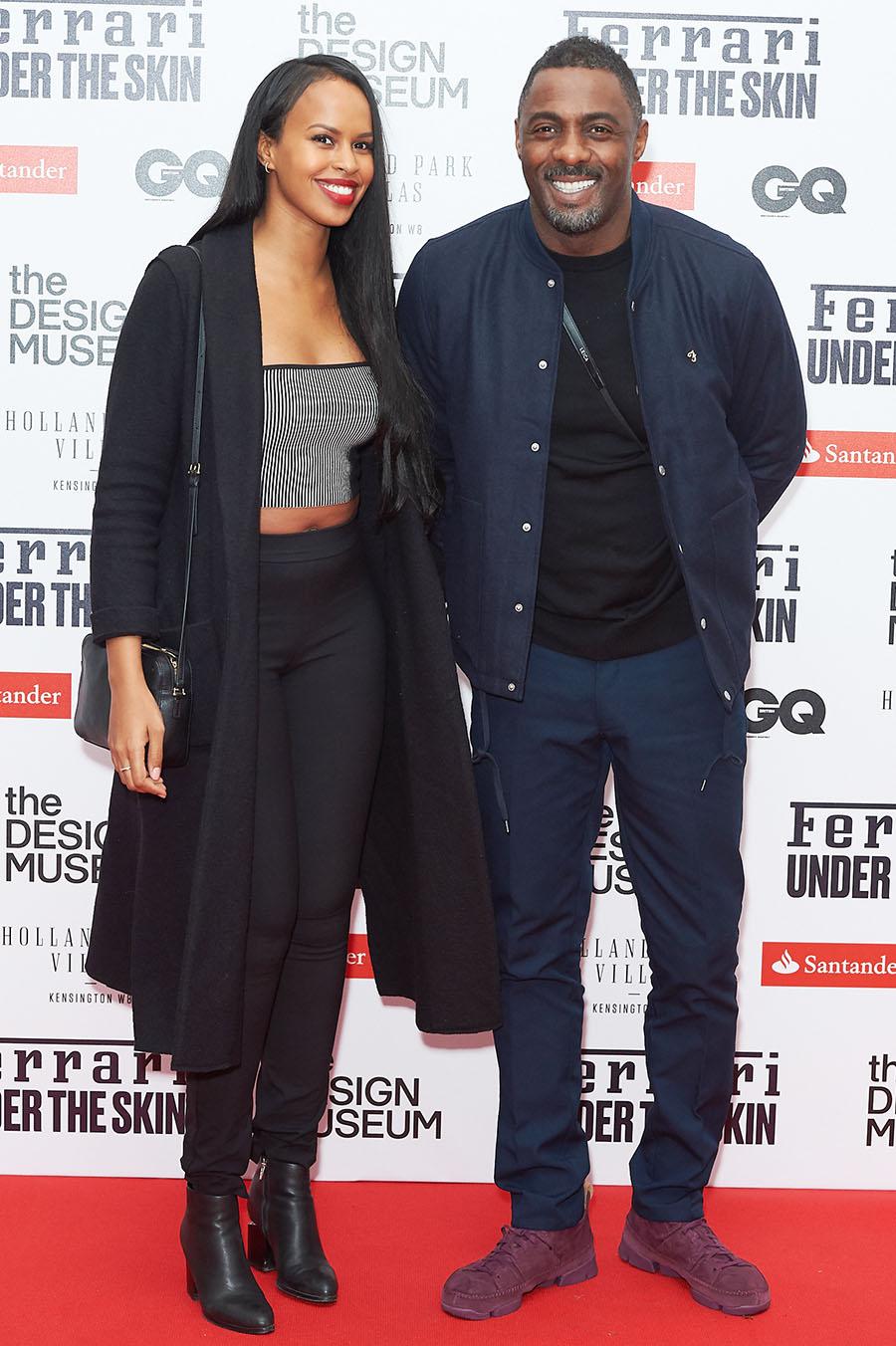 Sabrina Dhowre, Idris Elba