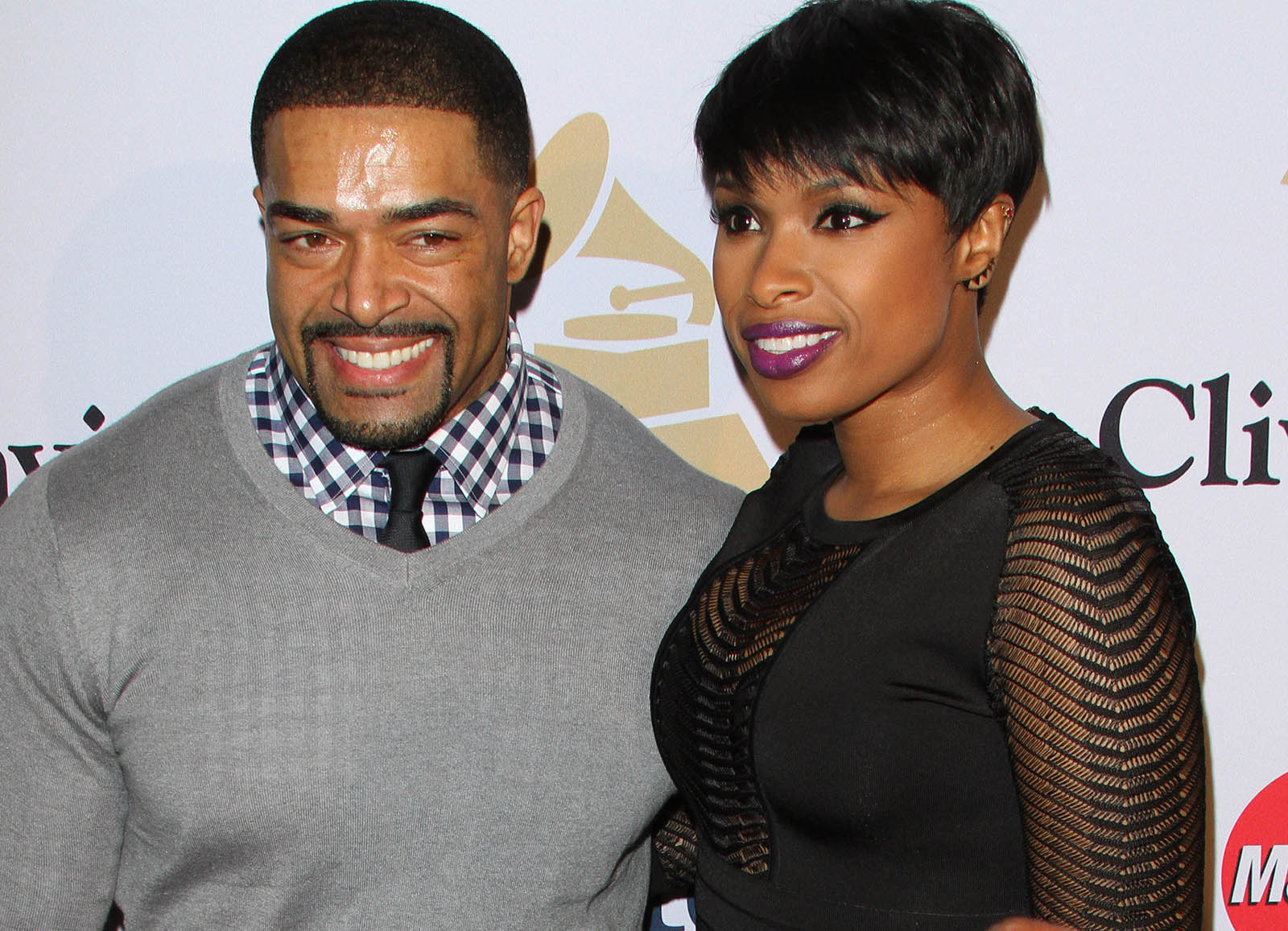 David Otunga & Jennifer Hudson