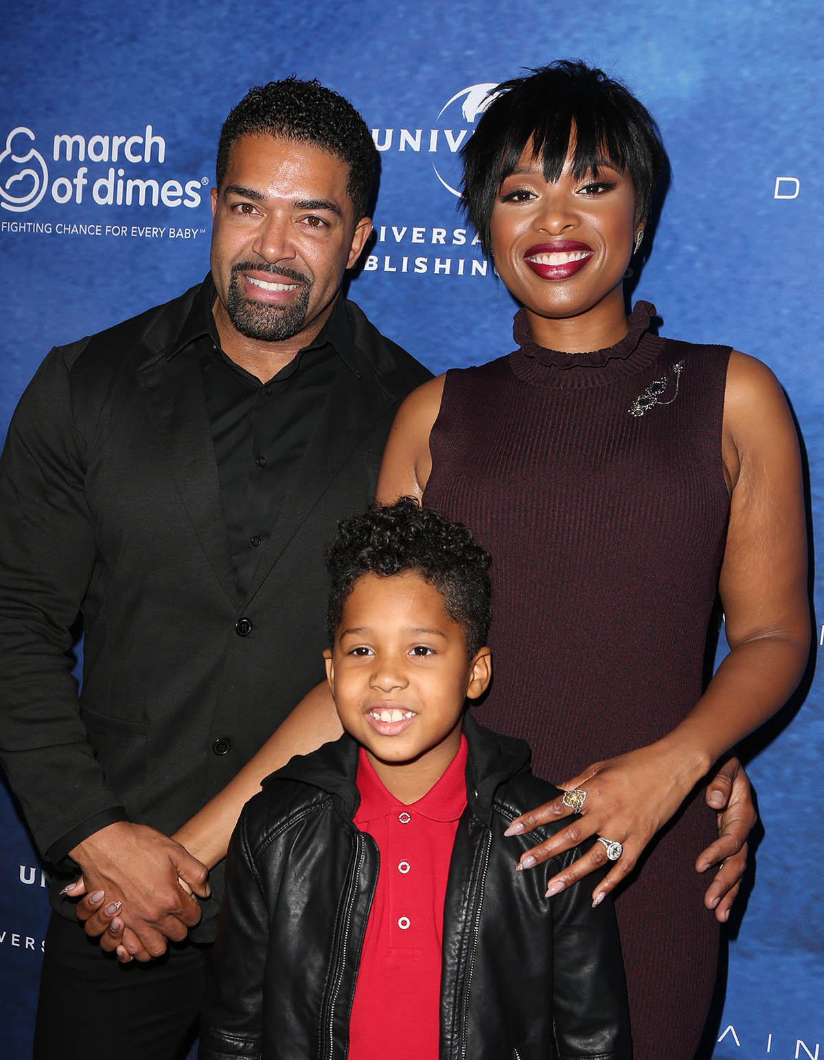 Jennifer Hudson, David Otunga & David Jr