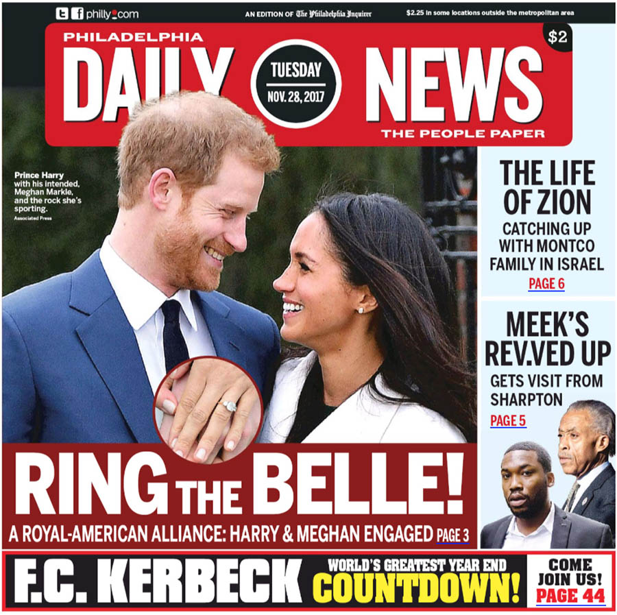 See How The World's Newspapers Reported Prince Harry