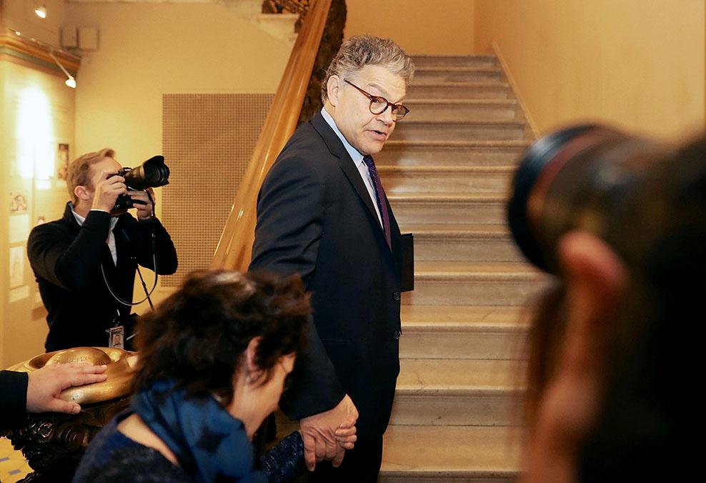 Sen. Al Franken resigns from senate