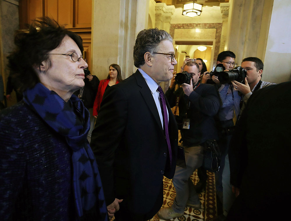 Sen. Al Franken and wife Franni Bryson