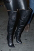 Nicky Minaj boots detail