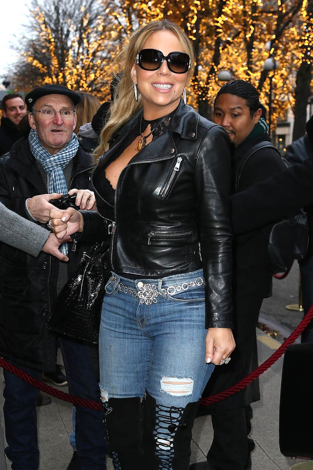 Mariah Carey in Paris