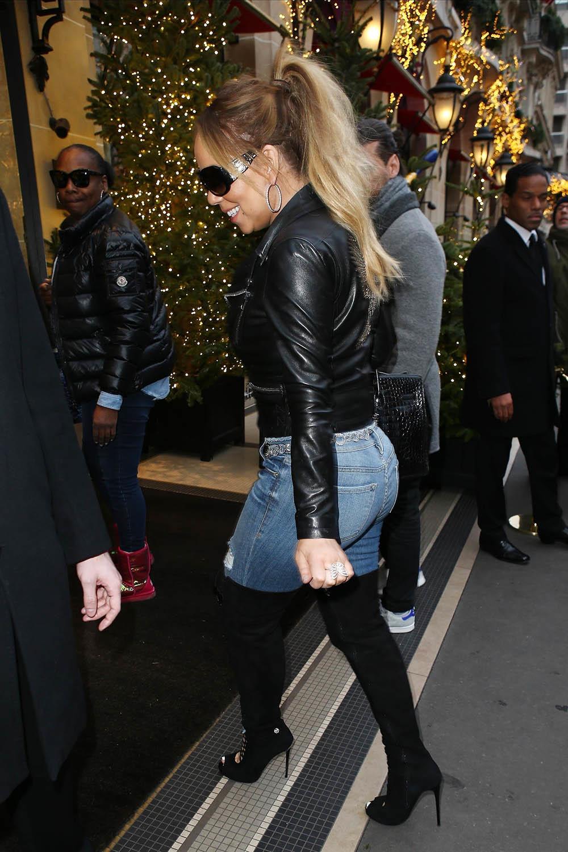 Mariah Carey in Paris