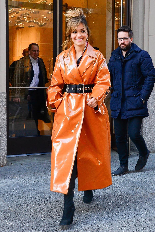 Rita Ora in NYC