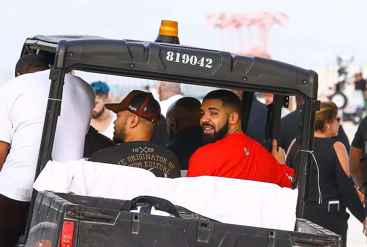 Drake in Miami Beach