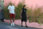 Tyga shows off his toned arms in WeHo