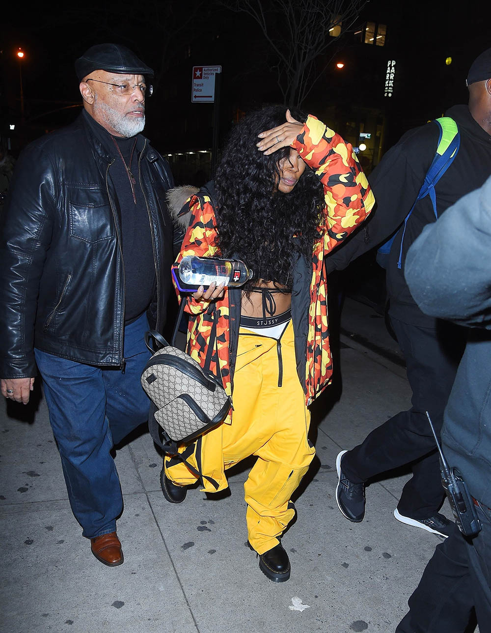 SZA leaves her concert in NYC