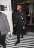 John Boyega exits Radio 2 in London