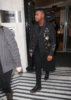 John Boyega exits Radio 2 in London