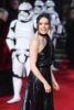 Daisy Ridley at Star Wars: The Last Jedi' premiere in London