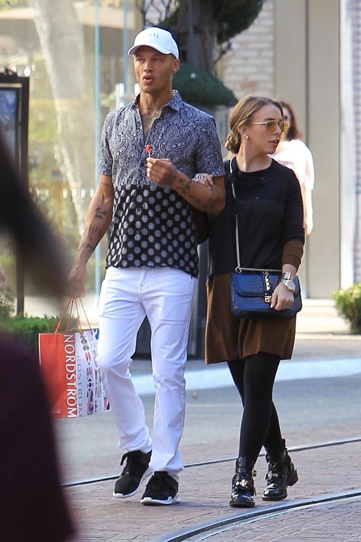 Jeremy Meeks & girlfriend Chloe Green