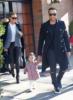 John Legend, Chrissy Teigen and daughter Luna in NYC