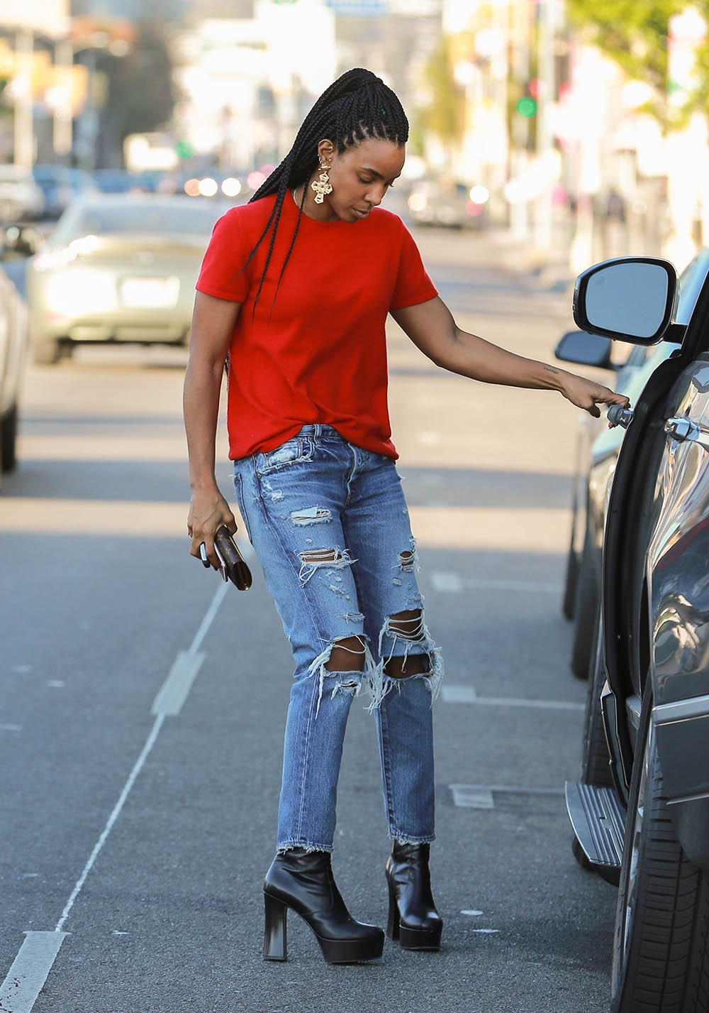kelly rowland in west hollywood sandra rose