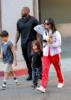 Kourtney Kardashian and kids Mason and Penelope