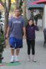 Adam Sandler & daughter Sadie Christmas shopping