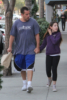Adam Sandler & daughter Sadie Christmas shopping
