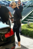 Selena Gomez leaves a Pilates class