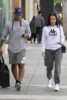 Draya Michele & Orlando Scandrick Christmas shopping in Beverly Hills