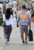 Draya Michele & Orlando Scandrick Christmas shopping in Beverly Hills